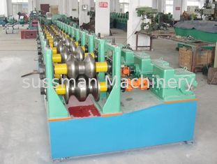China Guard Rail Roll Forming Machine 22kW CNC Control Roll Forming Machinery supplier