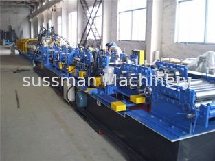 China Hydrodynamic Station Cut CZ Purlin Roll Forming Machine Interchangeable 7.5kW supplier