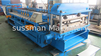 China Galvanized Steel / Blank Steel Door Frame Roll Forming Machine 12 - 15 Meters / Min supplier