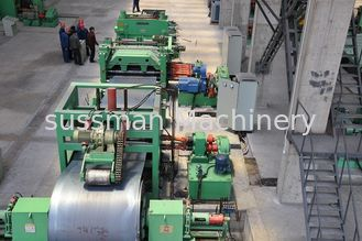 0 - 40 M / Min Steel Slitting Machine 12 Ton Coil Weight 480 - 520mm Coil I.D