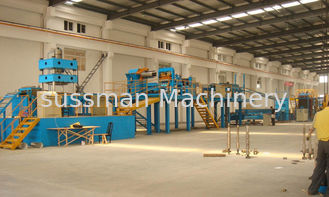 Light Weight Aluminum Sheet Continuous PU/EPS Sandwich Panel Production Line With 3-6m/min
