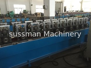 China 1100w Door Frame Roll Forming Machine 5.0T 1.6 - 2.0mm Steel Material Thickness supplier
