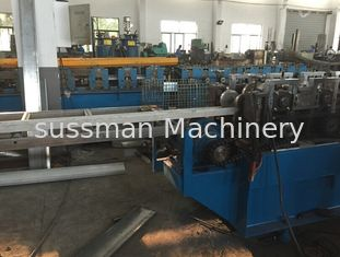 1.5 - 2mm Steel Door Frame Making Machine 5000kg 11.0Kw Cold Roll Forming Equipment