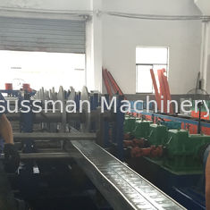 China Ceiling Roofing Structure Aluminum Cable Trunking / Cable Tray Making Machine supplier