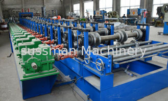 100mm Width Light Duty Cable Tray Roll Forming Machinery CE Passed 7.5KW