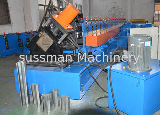 China 10 - 15 M / Min Rack Roll Forming Equipment 12 Month Warranty 8 Tons Weight supplier