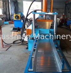 China Easy Operation Trench Cable Tray Roll Forming Machine 22KW 600MM Width SGS supplier