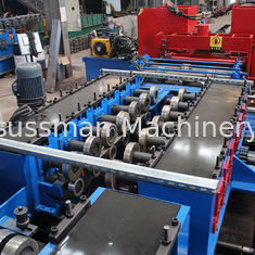 GI Stainless Steel Cladding Cable Tray Manufacturing Machine Double Chain Drive