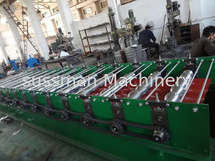 China 6.3T Roof Panel Roll Forming Machine Tile Edge Grinding Machine 220V 380V 400V 480V supplier