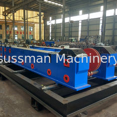 China Hydraulic 7.5KW 380V 50HZ Cable Tray Roll Forming Machine With Cr12Mov Cutting supplier