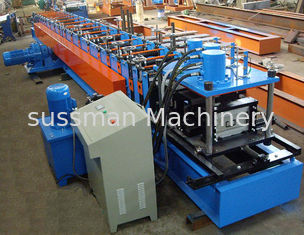 China 40mm - 80mm C Steel Purlin C Z Purlin Rolling Machine With Hydraulic Station supplier