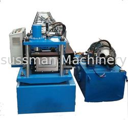 China 15KW Automatic C and Z Shaped Steel Quickly Change Purlin Roll Forming Machine supplier