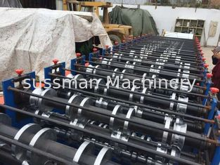 8 - 12 M / Min Double Layer Roll Forming Equipment 7.5Kw Cold Roll Forming Machine