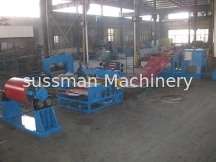 China 20m X 6m Steel Slitting Machine 1 Year Warranty 210Kw Steel Coil Slitting Line supplier