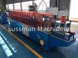Galvanized Shutter Door Roll Forming Machine Twin Lath Roller Shutter Door Machine
