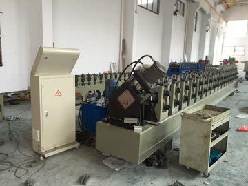 China PLC Control System Rack Roll Forming Machine 5000KG Chain Driven 7m * 1.4m * 1.4m supplier