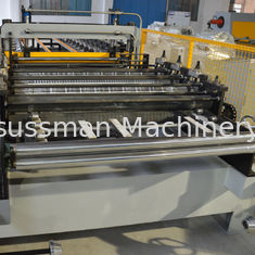 China Coated Roof Panel Roll Forming Machine Interlock Roof Panel Making Machine supplier