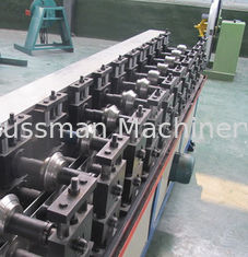 China Light Keel Ceiling T Bar Suspended Ceiling Grid Roll Forming Machine 0.3 - 0.5mm supplier