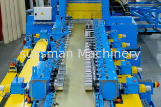China Blue 20 Station Cable Tray Roll Forming Machine 1.8-3.0mm Thickness supplier