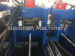 China Cold Rolled Steel 11Kw Cable Tray Making Machine Servo Feeding 10 Meters / Min supplier
