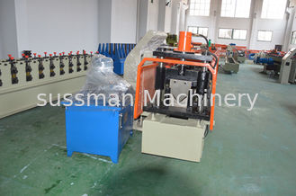 China 380V Stud And Track Roll Forming Machine Mild Steel Wall Angle Roll Former Machine supplier