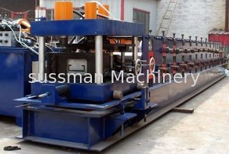 China 11KW Main Power C Purlins Roll Forming Machine With Hydraulic / Manual Decoiler supplier