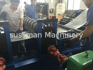 China 8 M / Min Cable Tray Rolling Forming Machine 80 - 600mm Profile Width Around 20 Tons supplier