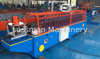 China Metal Frame Stamping Rolling Shutter Door / Shutter Slat Roll Forming Machine supplier