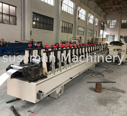 China Heavy Duty Warehouse Rack Roll Forming Machine Galvanized Steel Roll Forming Equipment supplier