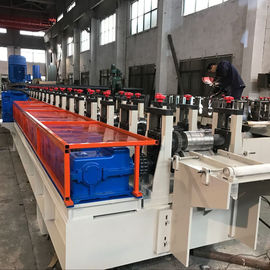 China Q235 Steel Shelving Rack Roll Forming Machine 18 Stations CE Certification supplier