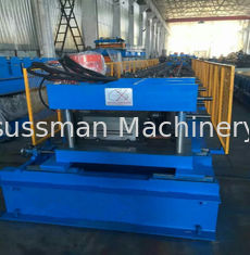 Sheet Length 2000 - 6000mm Punching Press PLC Cable Tray Machine Gear Box Driven