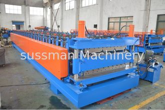 China Double Layer Roll Forming Machine for Wall Panel and Tile Roof Panel with PLC Control supplier