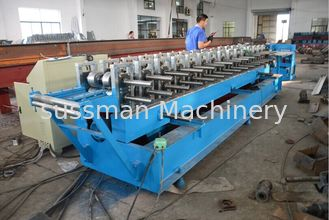 China Roller Material GCr15 Door Frame Roll Forming Machine with Hydraulic Cutting supplier