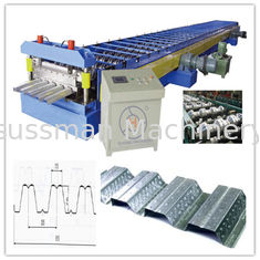 30KW Floor Deck Roll Forming Machine for Large Steel Structure Building Manufacturer Total 28 Stations