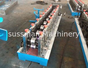 China Galvanized Light Steel CU Stud And Track Roll Forming Machine 0.4-1.2mm Profile Thickness supplier