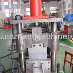 China Customized C Shape U Stud And Track Roll Forming Machine Galvanized steel frame making machine supplier