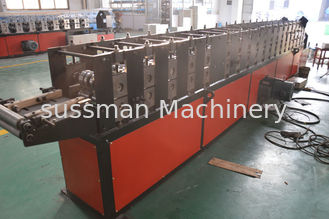 China Customized 7.5Kw Power Light Steel Stud And Track Roll Forming Machine Roller 13 Stations supplier