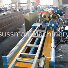 China Hydraulic Power 4kw Galvanized Steel Octagon Pipe Roll Forming Machine supplier