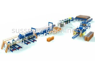 China High Speed Discontinuous PU sandwich Panel Production Line for Wall and Roof supplier