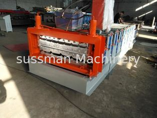 Simple Type Double Layer Roof Panel Roll Forming Machine / Roof Tile Roll Forming Machine