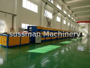 16mm Thickness PU Sandwich Panel Production Line for Exterior Wall Aluminium 2.5-10m / min