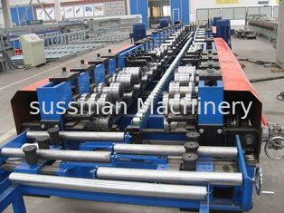 13m*1.4m*1.4m Cable Tray Roll Forming Machine with Hydraulic Punching and Cutting