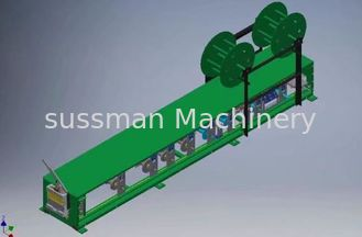 Australia Popular Portable Gutter Roll Forming Equipment with Hydraulic Cutting