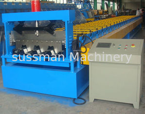 China Automatic Floor Deck Roll Forming Machine , Steel Rolling Machine High Efficiency supplier