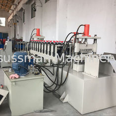 Hot Dipped Galvanized Steel Cable Tray Roll Forming Machine CE / SGS / ISO