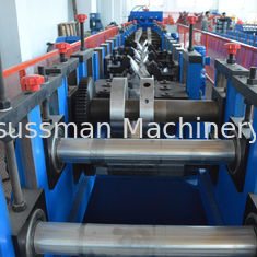 China Cold Rolled Lipped CZ Purlin Roll Forming Machine , Galvanized Cold Forming Machine supplier