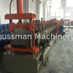 China 1.5mm Galvanized Ceiling Rail Shutter Door Roll Forming Machine With 11KW supplier