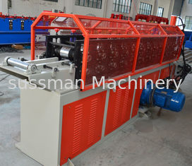 G550 Galvanized Coils Omega Grafting Stud And Track Roll Forming Machine Hydraulic Cutting 4KW