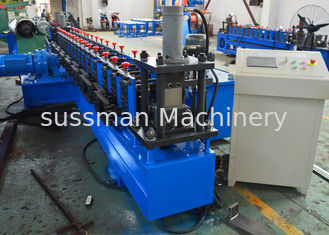 China Galvanized Slotted Strut Channel Roll Forming Equipment Hydraulic Cutting Cr12mov supplier