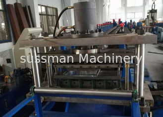 China Hydraulic Cutting Steel Storage Rack Shelf Production Line With Bending supplier